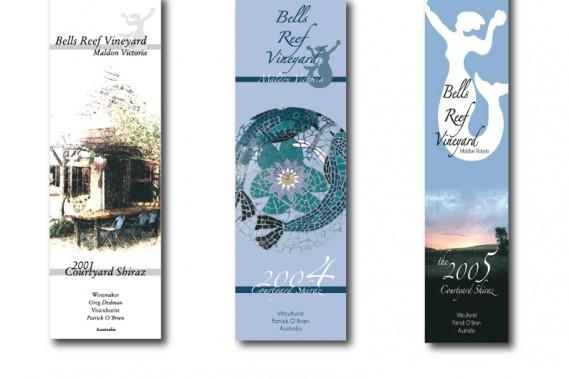 Weinlabel Bells Reef